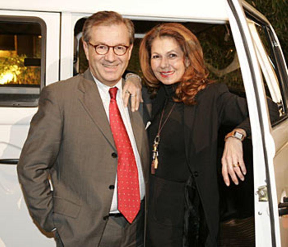 Jan Hofer und Lebensgefährtin Conny Modauer