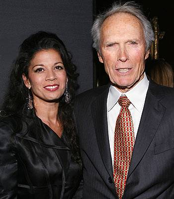 Clint Eastwood und Dina Eastwood