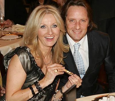 Frauke Ludowig und Ehemann Kai Roeffen