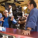 Departed-Regisseur Martin Scorsese mit Jack Nicholson