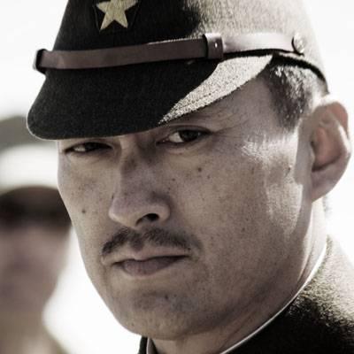 "Szenenbild aus ""Letter from Iwo Jima"", Ken Watanabe"