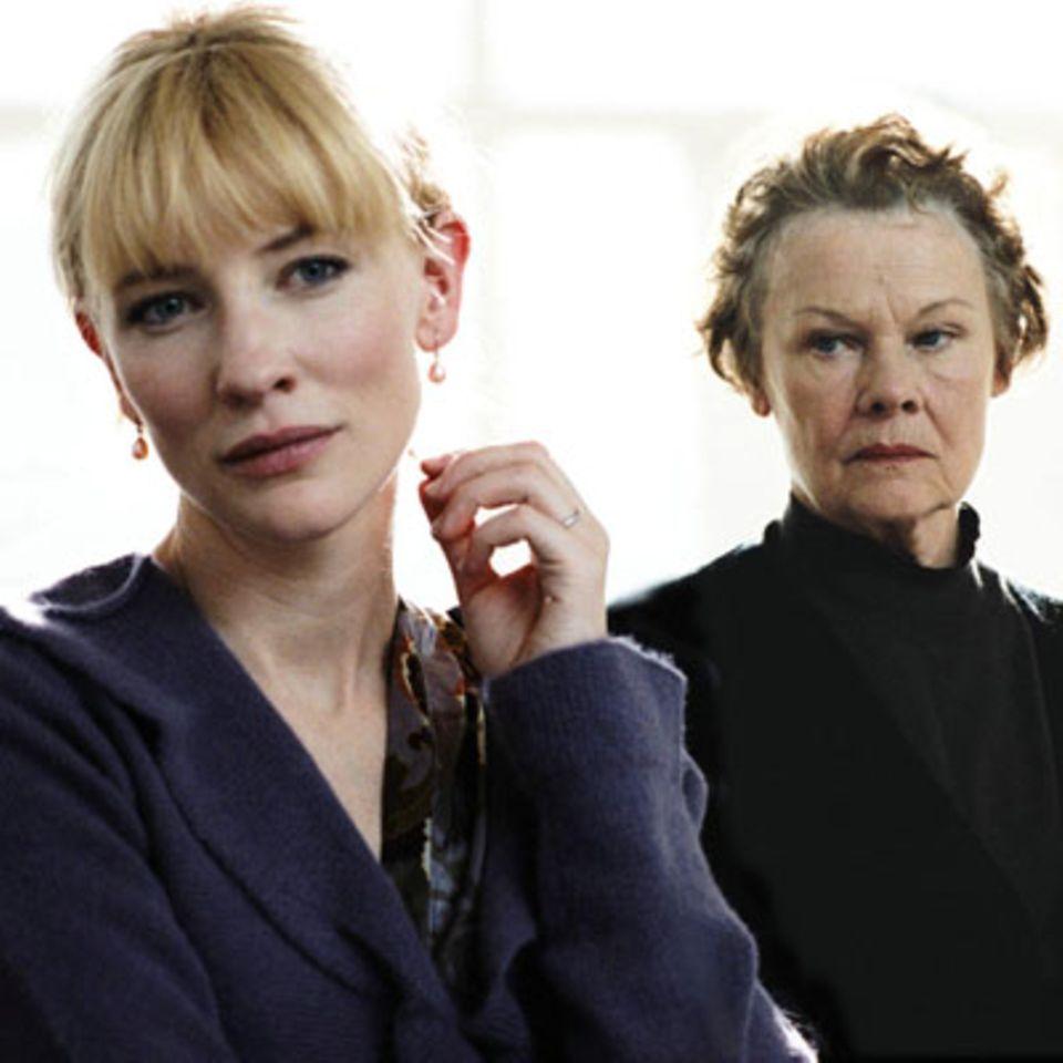"""Szenenbild aus """"Tagebuch eines Skandals"""", Cate Blanchett und Dame Judi Dench"""