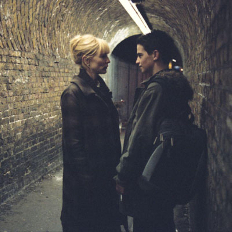 """Szenenbild aus """"Tagebuch eines Skandals"""", Cate Blanchett und Andrew Simpson"""