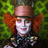 """23. Juni 2009: Johnny Depp glänzt als kauziger Hutmacher im neuen Disney-Film """"Alice im Wunderland""""."""
