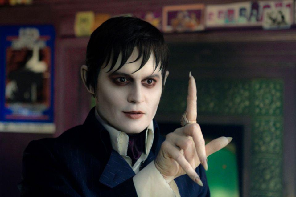"""Johnny Depp in """"Dark Shadows"""": Wenn Tim Burton eine Gruselkomödie dreht, dann spielt Johnny Depp die Hauptrolle. Als der Vampir"""