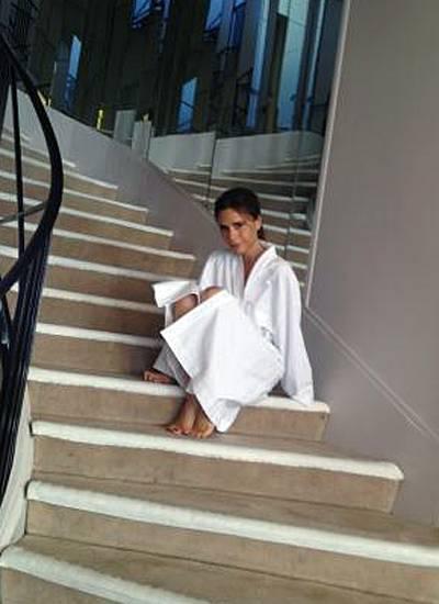 """Juli 2012 Fotoshooting für die französische """"Elle"""""""