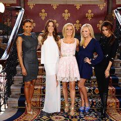 """26. Juni 2012: Die """"Spice Girls"""" sind zurück! Allerdings treffen sich Melanie Brown (Mel B), Melanie Chisholm (Mel C), Geri Hall"""