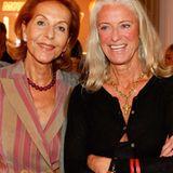 Heike Jahr und Designerin Iris von Arnim