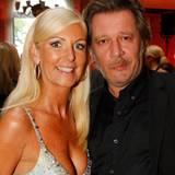 Jan Fedder und seine Frau Marion