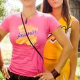 Die coolste Suntfrau der Welt Zoe Bell (spielt sich selbst) und die Cheerleaderin Lee
