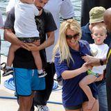 Britney Spears und Lover Jason Trawick sind mit Britneys Söhnen Sean Preston und Jayden James in Sydney unterwegs.