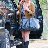 30. Juli 2013: Wieder frei - Lindsay Lohan verlässt nach ihrem 3-monatigen Aufenthalt die Suchtklinik in Malibu. Sie war vom Gericht dazu verpflichtet worden, nachdem sie im Juni 2012 einen Autounfall verursacht hatte und im Verlauf der Untersuchungen einen Polizeibeamten belog.