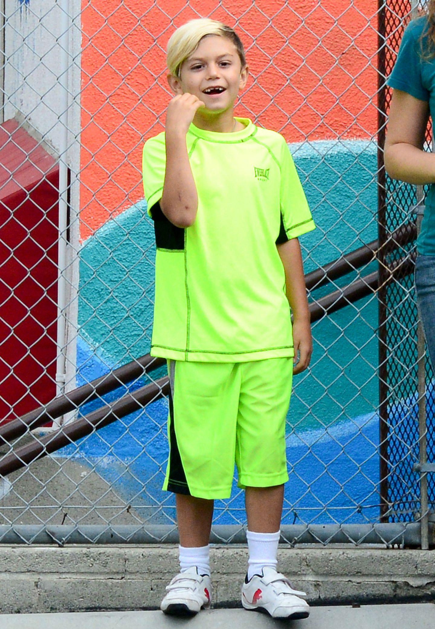 Kingston im normalen Fussball-Trikot? Aber dann bitteschön so auffällig wie möglich in knalligem Neongrün!