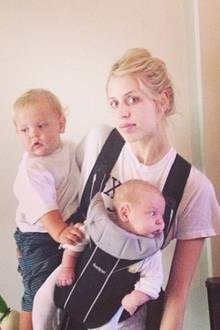 Mutter von zwei kleinen Kindern zu sein ist anstrengend, findet bestimmt nicht nur Peaches Geldof.