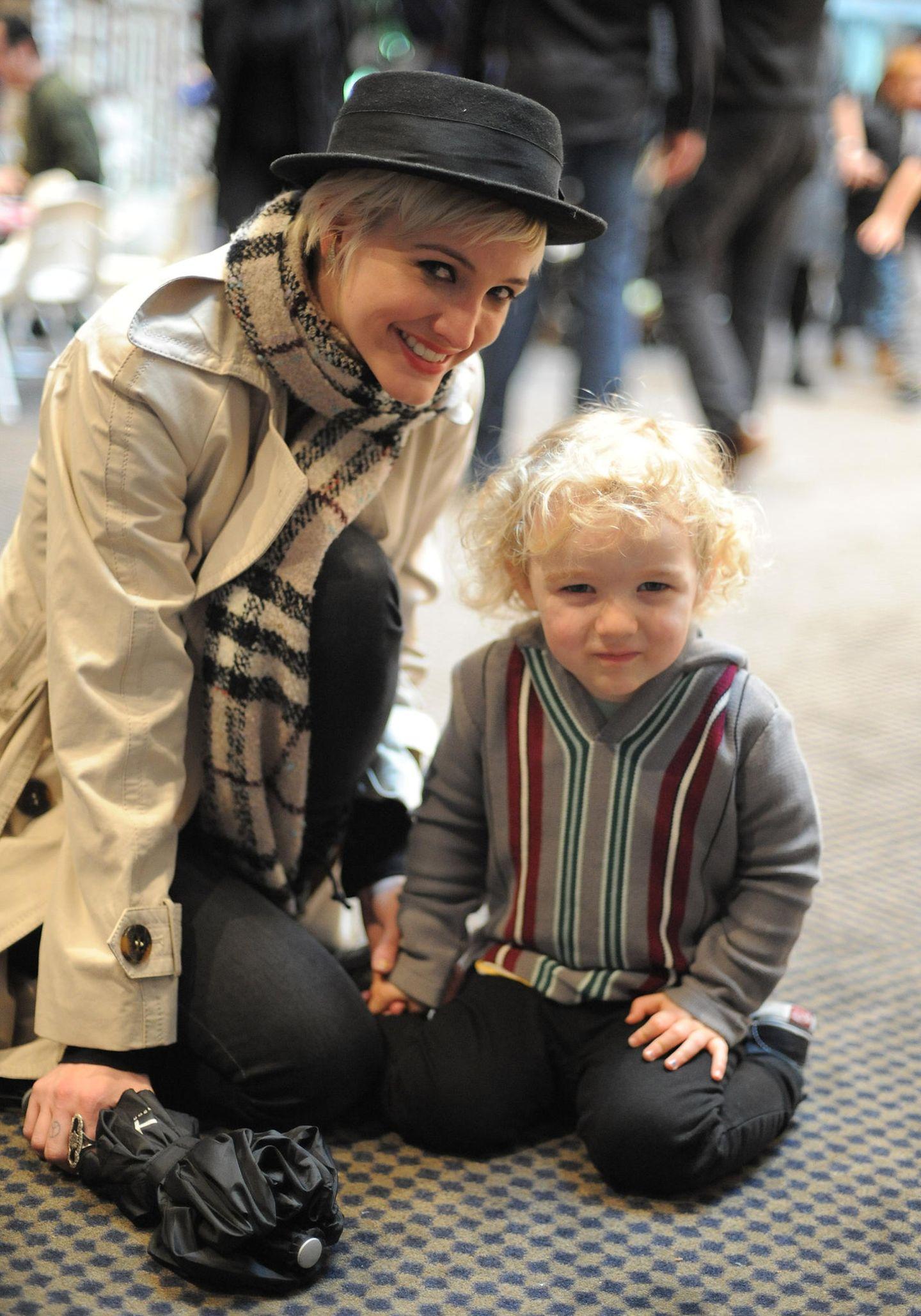 Ashlee Simpson und ihr Sohn Bronx