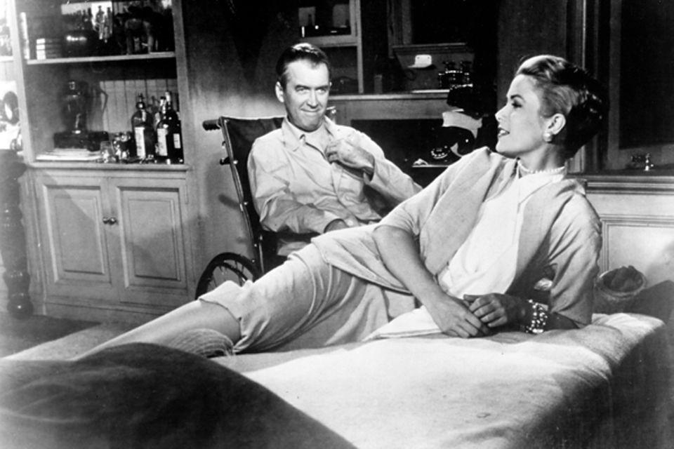 Auch der Meister des Films, Alfred Hitchcock, ist von der hübschen Blondine begeistert. In insgesamt drei seiner Filme spielt si