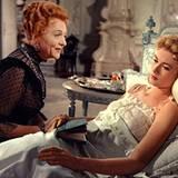 """""""Der Schwan"""" ist ihr vorletzter Film. Sie spielt darin eine Prinzessin; im wirklichen Leben wird sie kurz darauf selbst eine."""