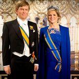 29. April 2014  Die Wachsfiguren von König Willem-Alexander und Königin Maxima werden bei Madame Tussauds in Amsterdam vorgestellt.