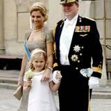 Prinzessin Catharina-Amalie, die kleine Tochter von Prinzessin Máxima und Prinz Willem-Alexander, durfte sich auch in die zehn B