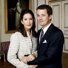 8. Oktober 2003: Prinzessin Mary und Prinz Frederik von Dänemark.