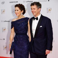 13. November 2014: Prinzessin Mary und Prinz Frederik bringen royalen Glanz zur Bambi-Verleihung nach Berlin. Die dänische Kronprinzessin bekommt die Auszeichnung für ihr soziales Engagement verliehen.