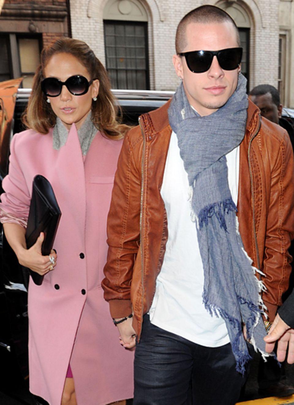 Jennifer Lopez und Casper Smart: Bereits einige Monate nach der Trennung von Ehemann Marc Anthony scheint Jennifer Lopez wieder
