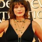 Bei der Premiere war sie aber ganz friedlich: Milla Jovovich