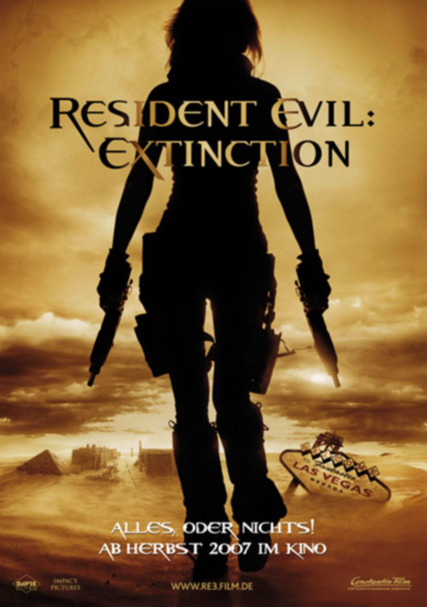 """Das Teaser-Plakat vom Film """"Resident Evil"""""""