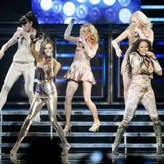 """Perfekte Choreographie war angesagt beim """"Spice-Girls""""-Auftritt"""
