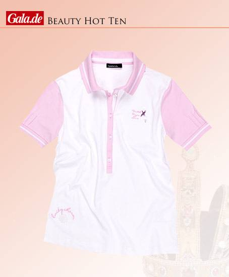 Pink­farbenes Polo