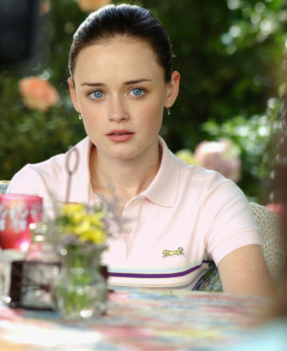 Die blauen Augen hat Rory von Mama Lorelai - und den Dickkopf auch. Rory hat sich mit Lorelai gezofft. Um ihr eins auszuwischen,