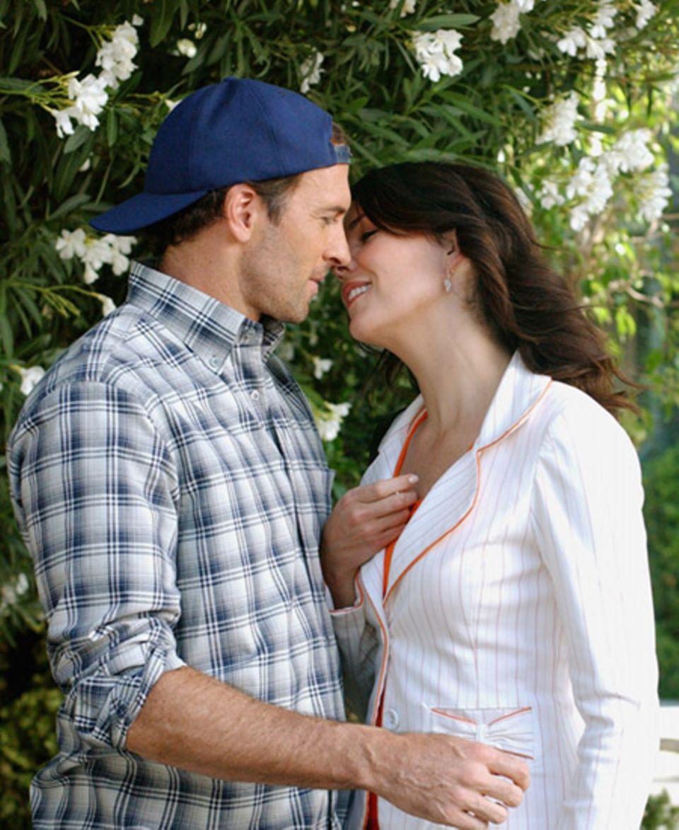 Uns wird ganz warm ums Herz: Endlich haben sich Luke und Lorelai bekommen