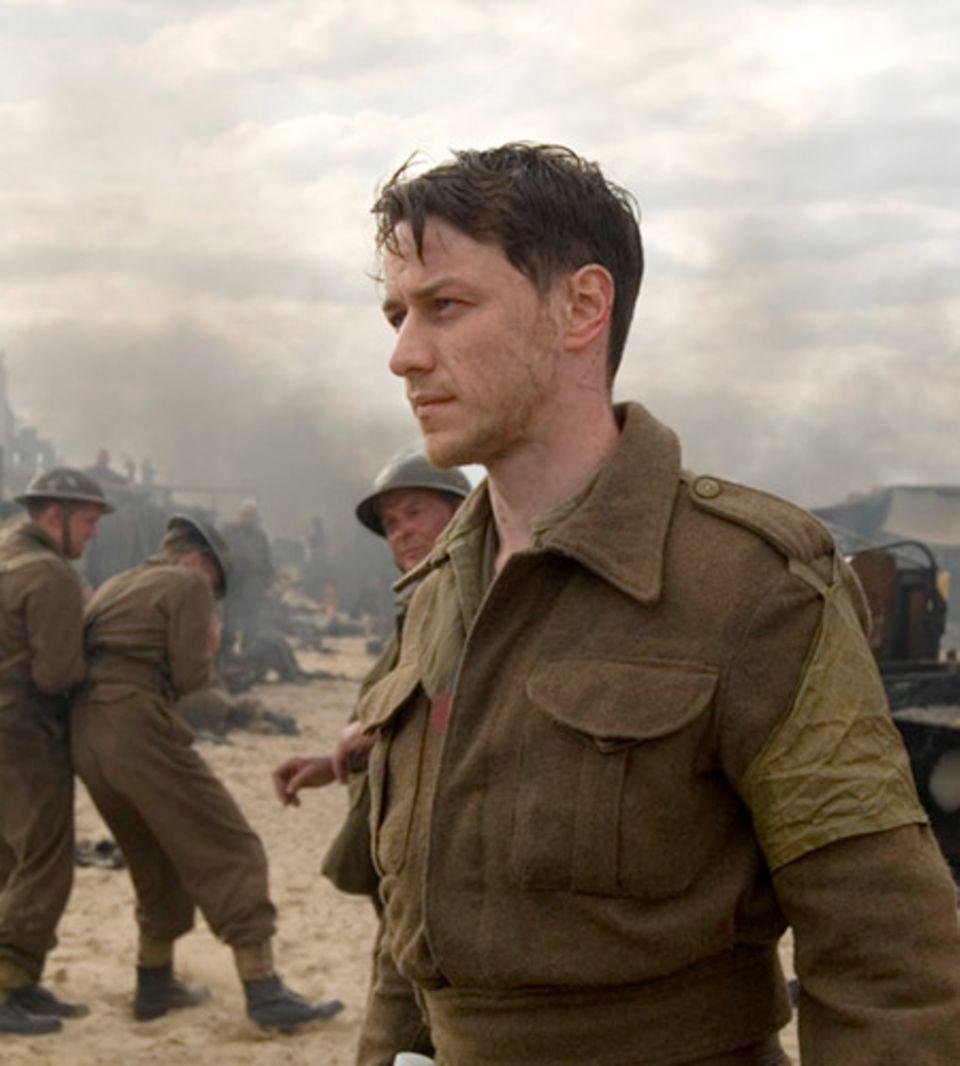 James McAvoy zieht als Soldat Robbie Turner in den zweiten Weltkrieg
