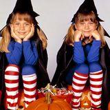 """Die Zwillinge Mary-Kate und Ashley Olsen in """"Halloween Twins - Jetzt hexen sie doppelt""""; 1993"""