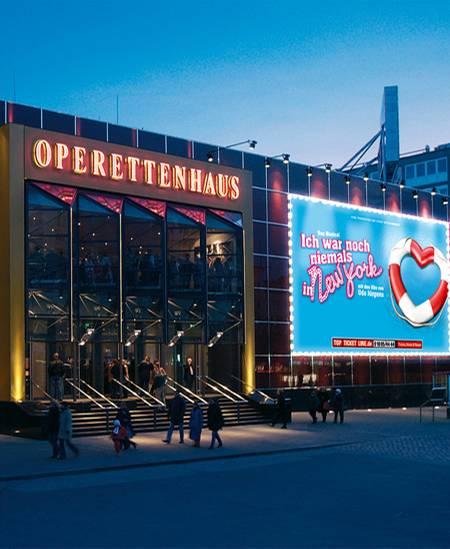 "Das ""TUI""-Operettenhaus in Hamburg"