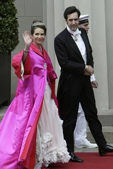 14. Mai 2004: Zu Besuch in Kopenhagen bei der Hochzeitsfeier von Dänemark's Kronprinz Frederik und Kronprinzessin Mary Donaldson