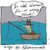 Hoppmann: So viel Wasser für so wenig Fisch
