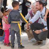 21. Oktober 2014: Prinzessin Mette-Marit und Prinz Haakon sind unter großer Geheimhaltung nach Jordanien und von dort aus in das Flüchtlingslager in Zaatari nahe der syrischen Grenze gereist.