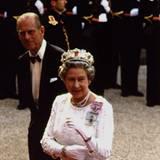 Königin Elizabeth II. und Prinz Philip zum Staatsbesuch in Frankreich