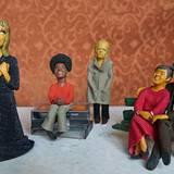 Die Berlinerin Linda Jakobsen formt Stars aus Knete: Hier sind ihre Versionen von Hildegard Knef, Michael Jackson, Klaus Kinski