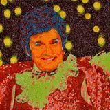 """Das ist Michael Douglas in seiner Rolle als """"Liberace"""" in dem Film """"Behind The Candelabra"""". Der Künstler Jason Mercier hat 4000 Süßigkeiten und 40 Stunden Arbeit in sein Werk gesteckt, das in San Franciso ausgestellt wird."""