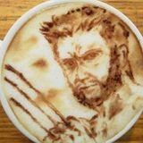 """""""Wolverine"""" als Milchschaumkunst: Das gefällt sicher nicht nur Hugh Jackman."""