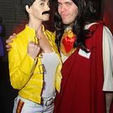 28. Oktober 2008: Wer hat sich denn hier als Freddie Mercury und Jesus verkleidet?