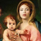 """Die """"Carter Family Portrait Gallery"""" zeigt Beyoncé Knowles und ihre Liebsten mit verschiedenen klassischen Gemälden kombiniert."""