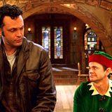 So langsam wird Fred von den Mitarbeitern des Weihnachtsmann bekehrt