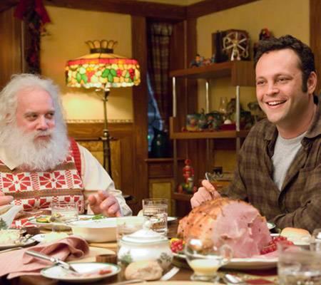 Ungleiches Brüderpaar: Paul Giamatti als heiliger Santa Claus und Vince Vaughn als sein unwesentlich weniger heiliger Bruder Fre