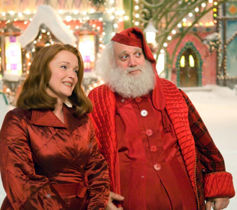 """Das """"Ehepaar Weihnachtsmann"""": Miranda Richardson und Paul Giamatti"""