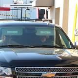 3. März 2012: Angelina Jolie und Brad Pitt machen mit ihren Zwillingen Vivienne und Knox einen Ausflug zu McDonald's in Hollywoo