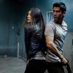 """Juni 2011:  Jessica Biel steht mit Colin Farell im Actionstreifen """"Total Recall"""" wieder vor der Kamera. Im Remake des gleichnamigen Actionklassikers von 1990 spielt Arnold Schwarzenegger die Hauptrolle."""