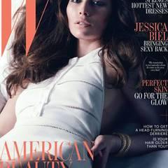 """14. März 2012: Jessica Biel wird auf dem Aprilcover des """"W Magazine"""" abgebildet."""